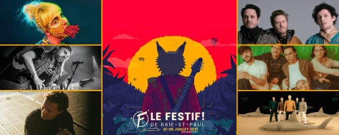 Klô Pelgag, The Franklin Electric, Steve Hill, Choses Sauvages, We Are Wolves et Drogue au Festif!
