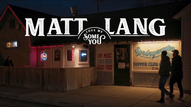 Matt Lang - Love Me Some You